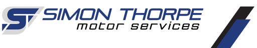 Simon Thorpe Motor Services Logo